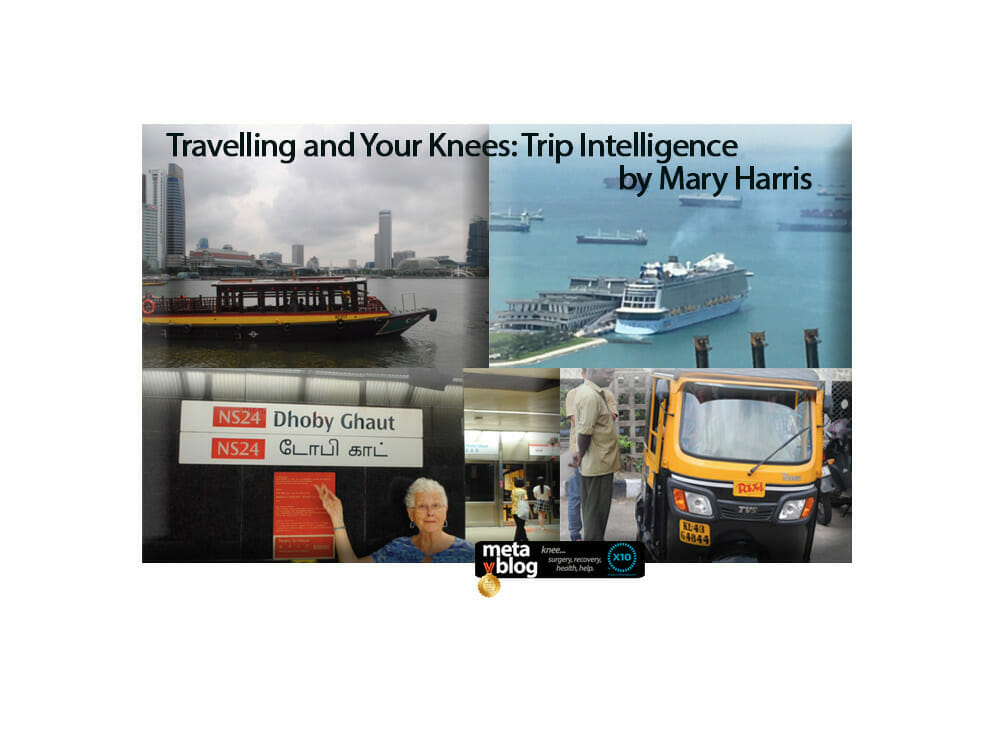 Travelling and Your Knees by Mary Harris