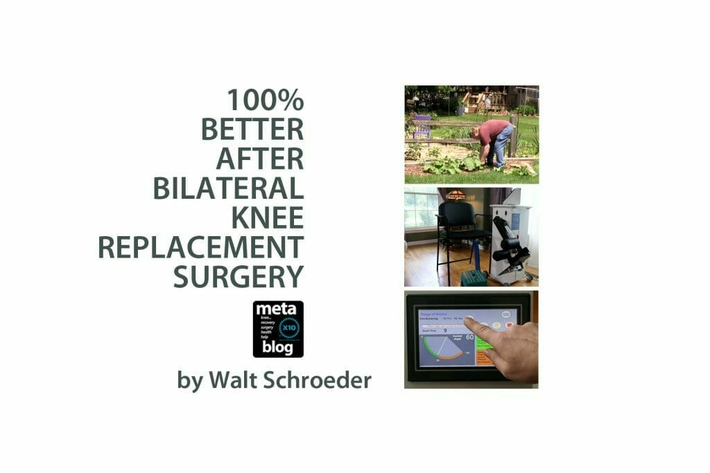 Better After Bilateral Knee Replacement Surgery