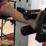 Cheryl on The X10 Knee Machine