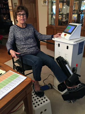 X10 Knee Machine