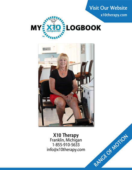 Knee Replacement Recovery Chart