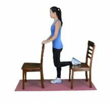 Quadriceps Strength - Chair Stretch