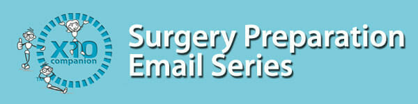 Pre-SURGERY-Email Series for Knee Surgery Recovery