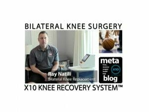 NCAA Basketball Official Total Knee Replacement