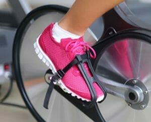 A Stationary Bike After Knee Surgery