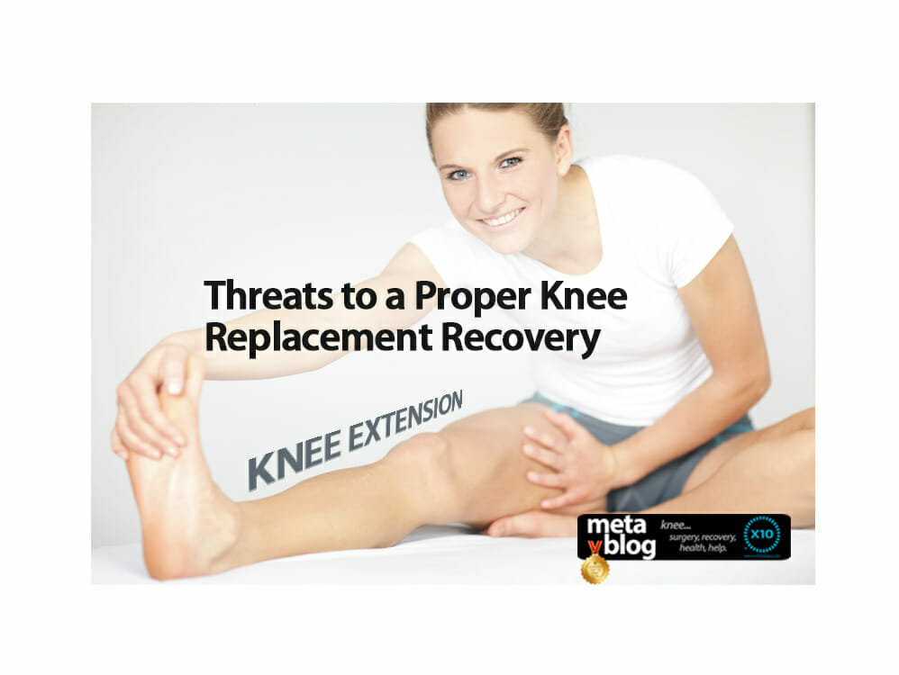 Lack of Knee Extension
