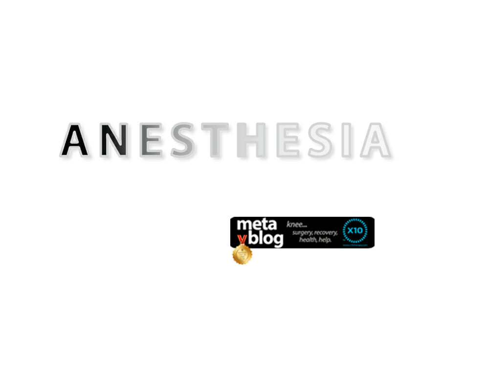 All About Anesthesia
