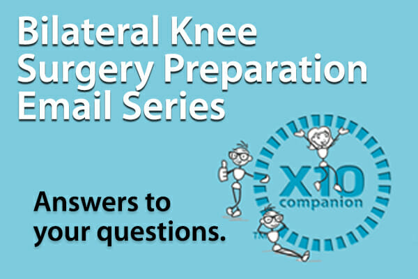 Bilateral Knee Surgery Email Series