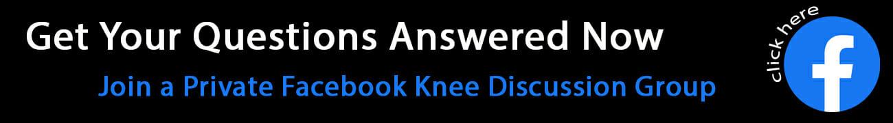 Knee Groups on Facebook
