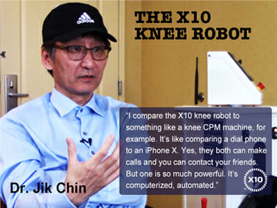 knee robot, The X10 Knee Recovery System™