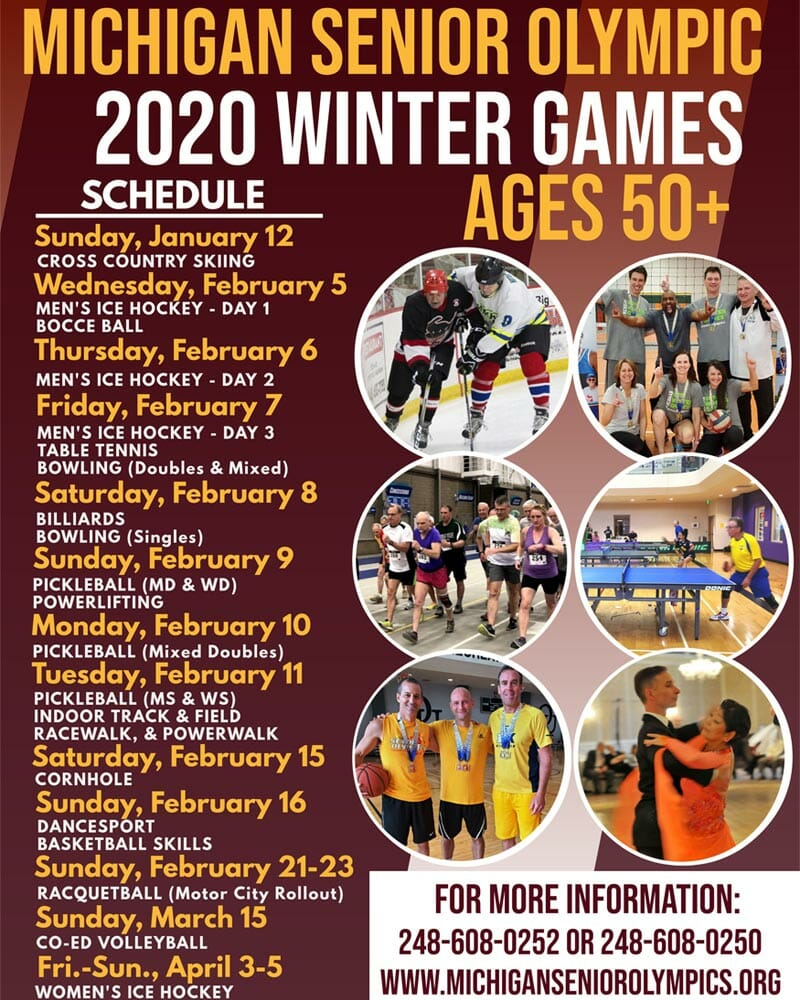Senior Olympics Winter Games