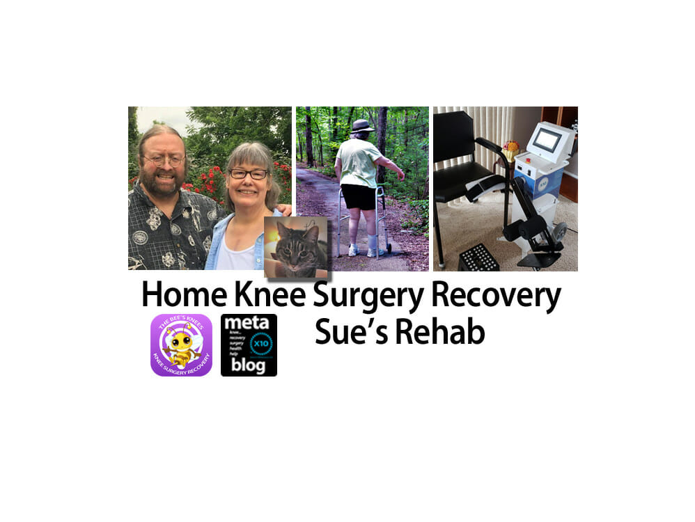 In Home Knee Surgery Recovery