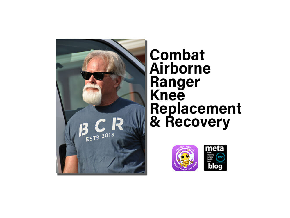 Airborne Ranger Knee Replacement